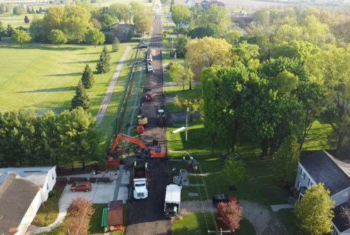 City of Troy- Riverside Drive Street Reconstruction